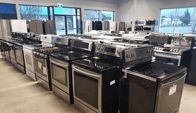 Discounted appliance store Chilliwack BC